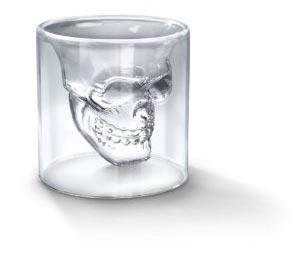 Totenschädel Schnapsglas Doomed