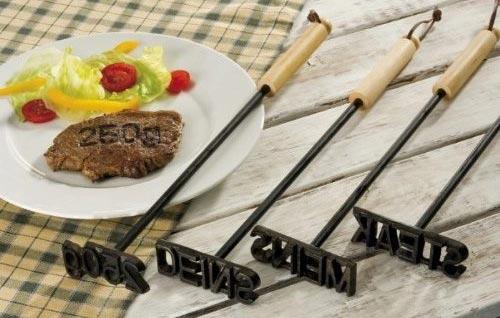 BBQ Grill Brandeisen Branding Stempel