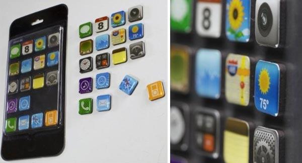 Apps Magnete für Kühlschrank / Magnettafel