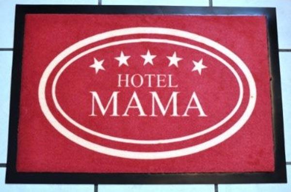 Fussmatte 'Hotel Mama'