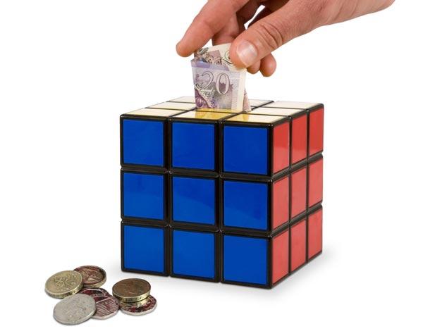 Rubik's Cube Zauberwürfel Spardose