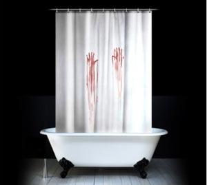 Blutbad Duschvorhang BLOOD BATH