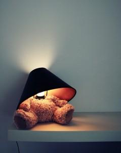 Plüschbär Lampe