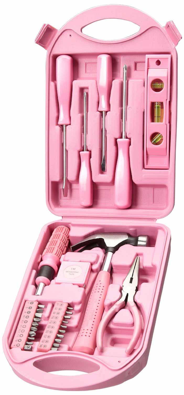Tussi on Tour - rosa Werkzeugkoffer für Frauen