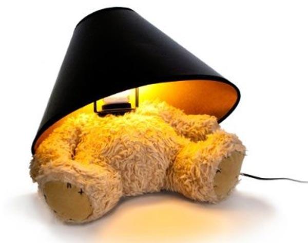 Teddybär Lampe