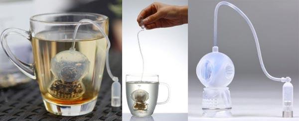 Tee-Ei: Der Tee Taucher