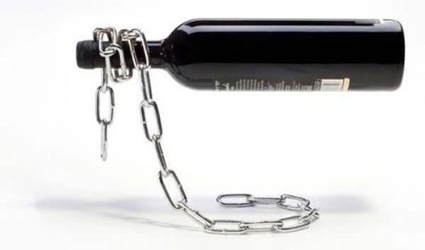 Ketten Weinflaschenhalter/ständer Magic Chain