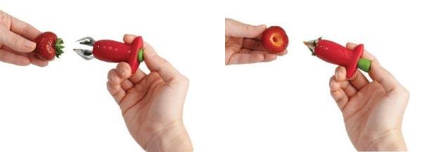 Erdbeerstrunkentferner
