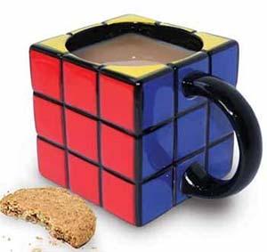 Kaffeebecher Rubiks Zauberwürfel