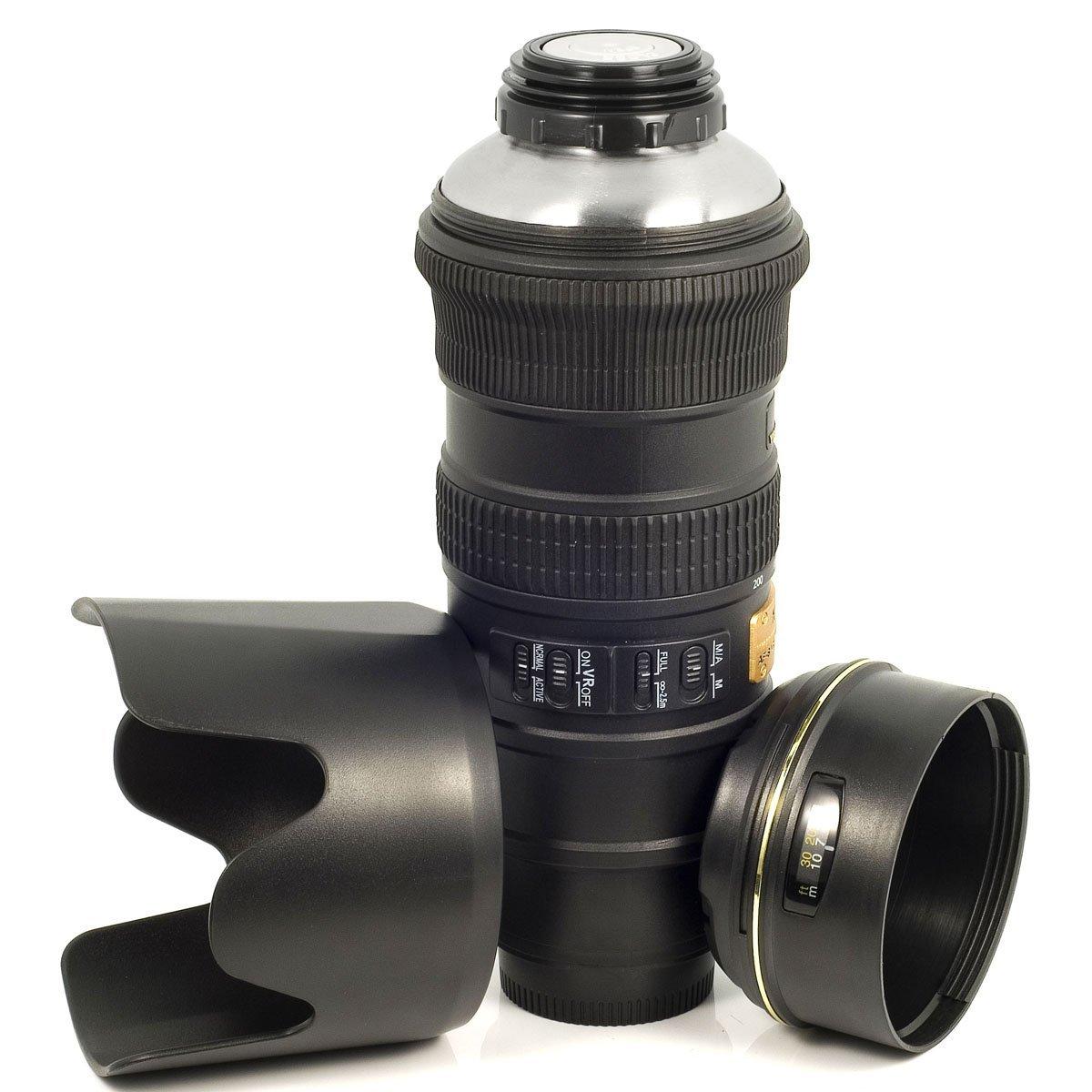 Kamera-Objektiv Reise Thermokanne AF-S 70-200mm
