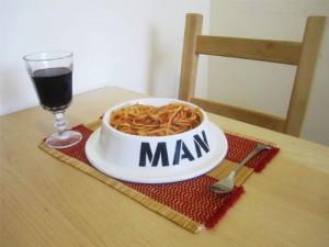 Fressnapf für Männer