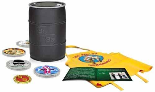 Das Breaking Bad Fass - Die komplette Serie auf Blu-ray