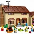 Das Simpsons Haus aus Lego