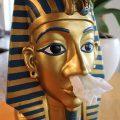 Taschentuchspender ägyptischer König Tutanchamun