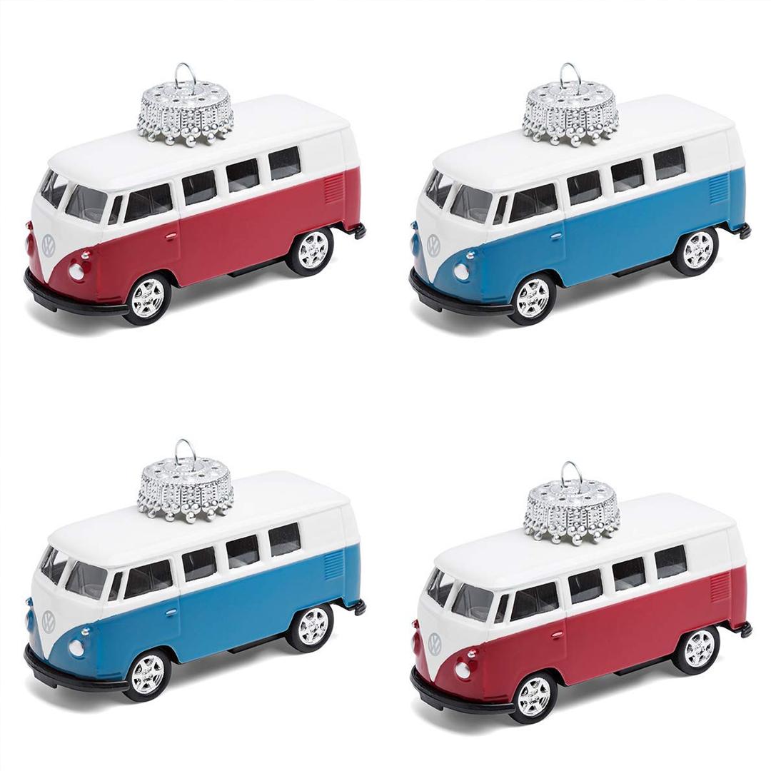 Christbaumschmuck VW Bus T1 Bulli 4er Pack